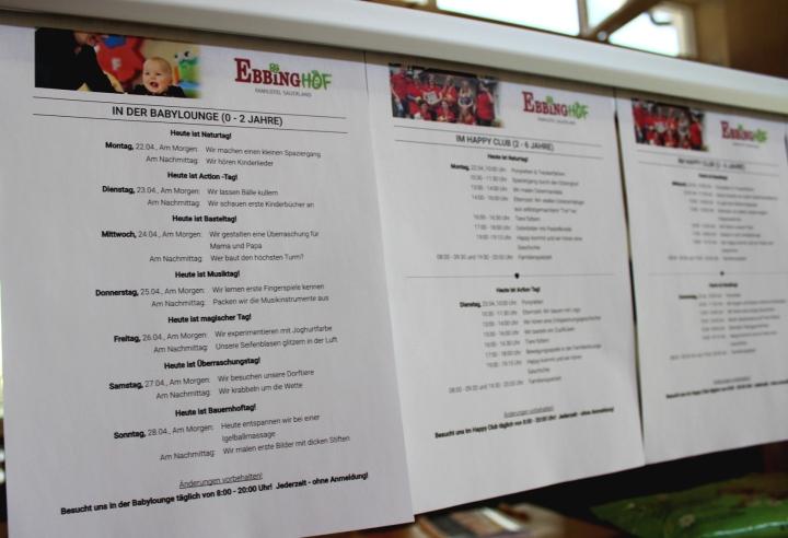 Ebbinghof Programm Kinder