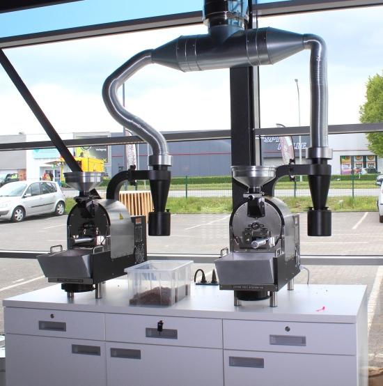 Quadro Coffee Röstmaschine