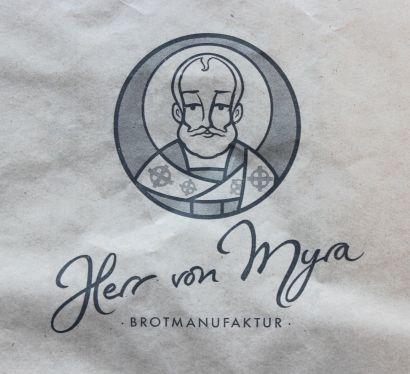 Herr von Myra Brötchentüte
