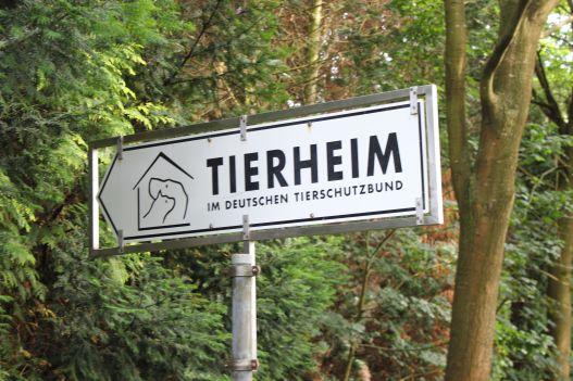 Tierheim Lippstadt Schild