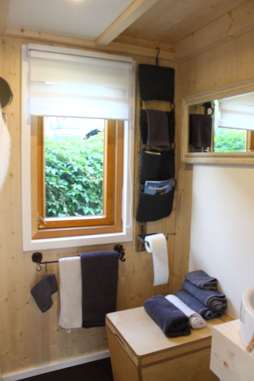 Tiny House Helden Toilette