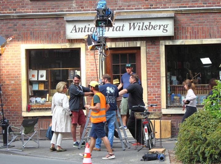Wilsberg Dreharbeiten