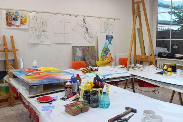 Das Atelier Hüsten Malkurs Steinwender