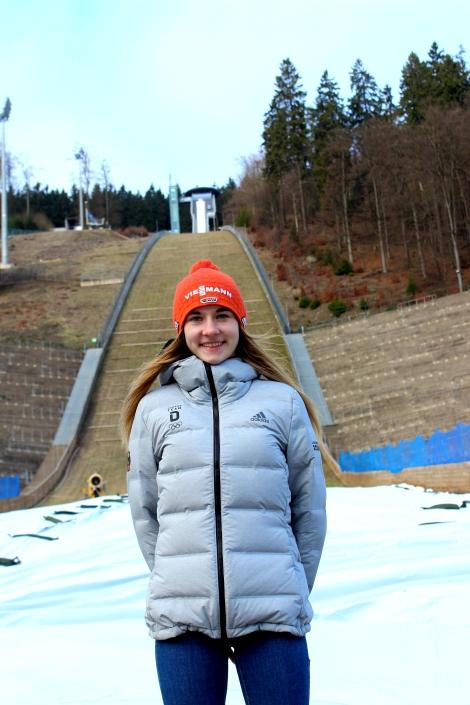 Michelle Göbel Skispringen