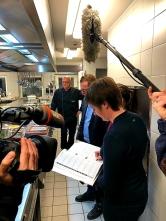 WDR Dreh Hohe Bracht Interview Küche
