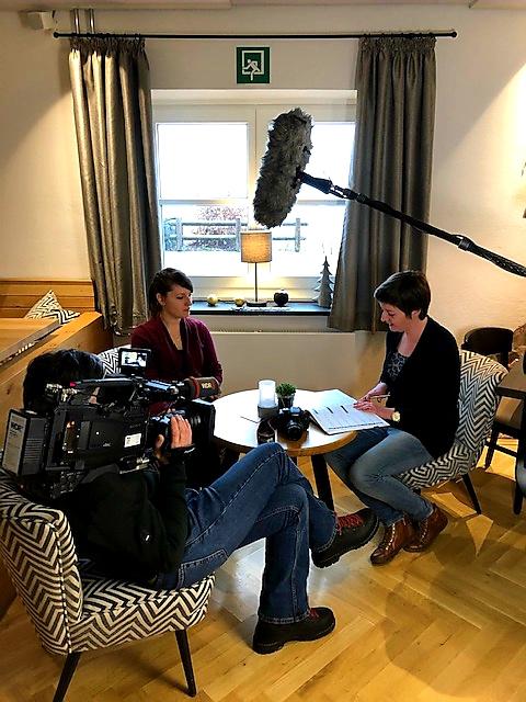 WDR Dreh Hohe Bracht Interview