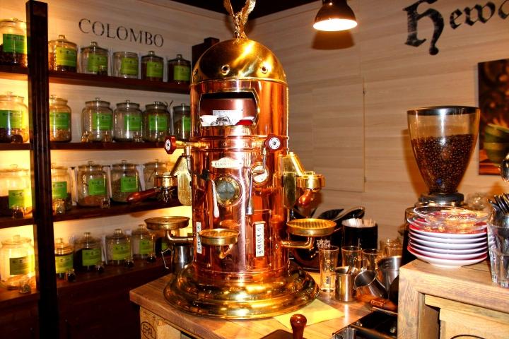 Hewa Tea Lounge Kaffeemaschine