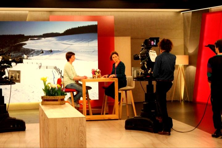 Hier und Heute Studio Interview