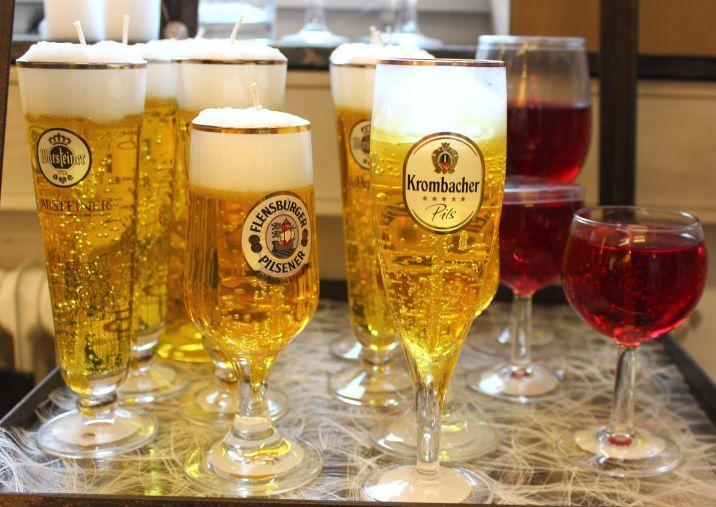 Kerzenmanufaktur Hädicke Gelkerzen Bier