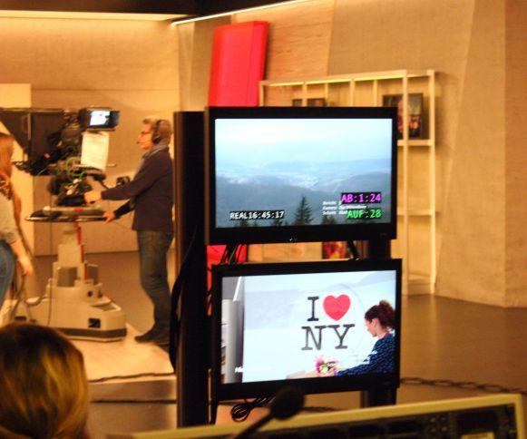 WDR Hier und Heute Bildschirm