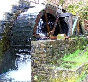 Heesfelder Mühle Mühlrad