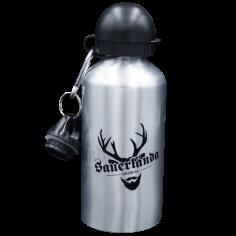 Trinkflasche-Silber