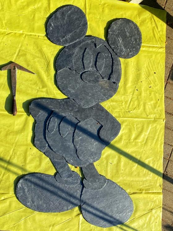 Mike Schawohl Mickey Mouse Zwischenschritt